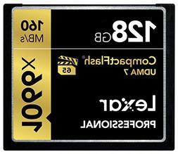 Lexar Professional 1066x 128GB VPG-65 CompactFlash card  LCF