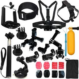 23-in-1 Camera Accessories Kit Bundle Attachments for Gopro