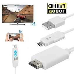 USB Type C 3.1 to HDMI HDTV TV Cable Adapter For Samsung Gal