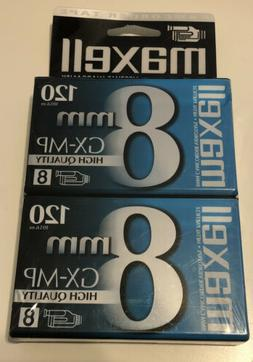 Maxell P6-120 GX-MP Camcorder Tapes, 2 Pack