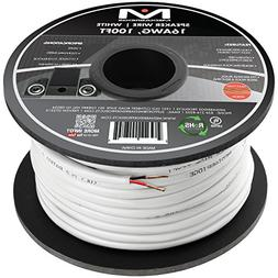 Mediabridge 16AWG 2-Conductor Speaker Wire  - 99.9% Oxygen F