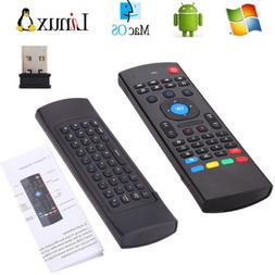 Mini 2.4G Remote Control Wireless Keyboard Air Mouse for PC