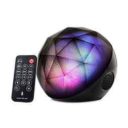Music Speakers with Led Lights, Portable Bluetooth Color Bal