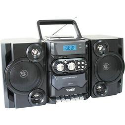 NAXA Electronics Portable MP3/CD Player with AM/FM Stereo Ra