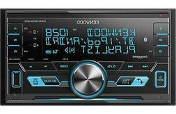 NEW Kenwood DPX303MBT Double DIN Bluetooth, Digital Media/AM