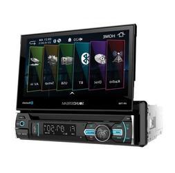 "NEW Soundstream 1 Din VR-75B DVD/CD/MP3 Player Flip Up 7"" LC"