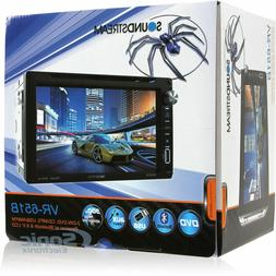"""NEW Soundstream Double Din VR-651B DVD/CD/MP3 Player 6.5"""" LC"""