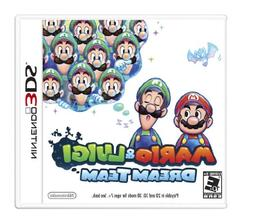 Nintendo 3DS XL, Silver - Mario & Luigi Dream team Limited E