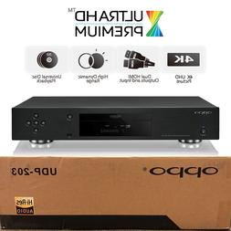 OPPO DIGITAL UDP 203 4K ULTRA HD UHD UNIVERSAL NETWORK 3D BL