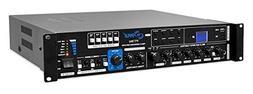 Multi-Channel Home Audio Power Amplifier - Mixer w/ 70V 100V