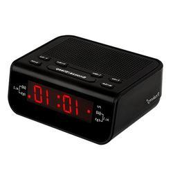 Peakeep Little Digital FM Alarm Clock Radio with Dual Alarm,