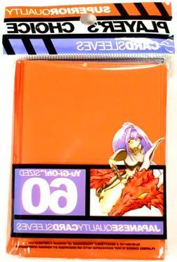 Player's Choice Yu-Gi-Oh! Orange Sleeves  - Designed for Sma