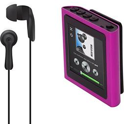 Polaroid PMP120-4PK Built-In Sports Clip Touch Screen Mp3 Pl