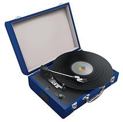 Polaroid, Portable Bluetooth Turntable W/Speakers for Vinyl