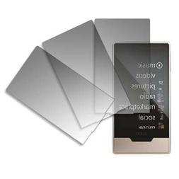 Premium Crystal Clear Screen Protectors for Microsoft Zune H