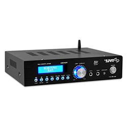 Wireless Bluetooth Home Power Amplifier - 200 Watt Audio Ste