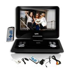 Pyle PDH14 14'' Portable DVD Player USB SD Input, Remote, Ea