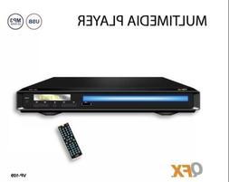 QFX MULTIMEDIA/DVD PLAYER USB/AVI/MP3/VCD/CD/CD-R PLAYBACK V