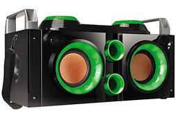 QFX PBX-505200BTGRN Portable Bluetooth Party PA System/Boom