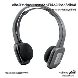 RadioShack Lightweight Sport AM/FM Stereo Headset Radio