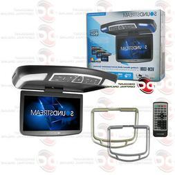 "SOUNDSTREAM VCM-138H 13.8"" OVERHEAD LCD MONITOR W/ DVD PLAYE"