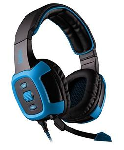 Sades Shaker Wired 7.1 Stereo Gaming Headset with Removable