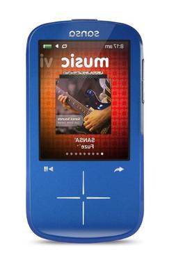 SanDisk Sansa Fuze 4 GB Blue Flash Portable Media Player