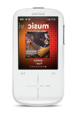 SanDisk Sansa Fuze+ 8GB MP3 Player, White With 2.4-Inch LCD