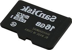 Sandisk SDSDQM-016G - B35A 16GB MicroSDHC Memory Card, Class