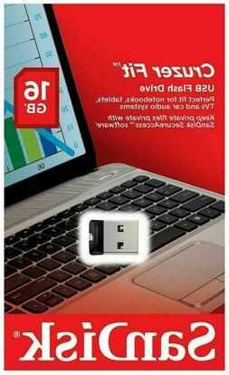 Sandisk Cruzer Fit 16GB USB Flash Drive