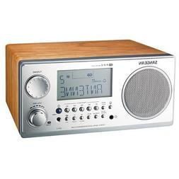 Sangean WR-2 FM-RBDS AMWooden Cabinet Digital Tuning Receive