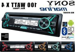 Sony MEXM100BT Marine Radio Bluetooth CD Player Songpal 100W