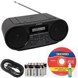 Sony Portable Mega Bass Stereo Boombox Sound System with NFC