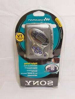 Sony WM-FX281 Cassette Walkman with Digital Tuner