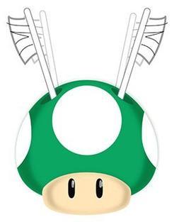 "Super Mario ""Simply the Best"" Green Mushroom Toothbrush Hold"