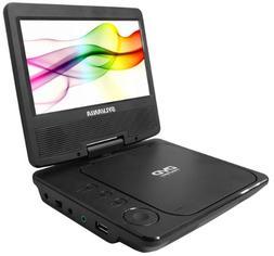Sylvania SDVD7040B-Black 7-Inch Portable DVD Player, Black