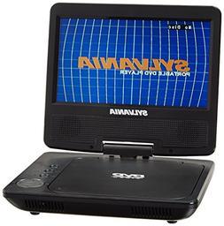 "Sylvania SDVD7040B-RB 7"" Swivel Screen Portable DVD Player M"