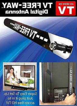 TV Free-Way - The Portable Digital HDTV Antenna, Ultra-Thin