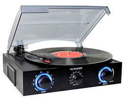 TechPlay TCP2 BK, 3 Speed turntable with pitch control, FM R