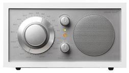 Tivoli M1WHT Audio Model One AM/FM Table Radio, White/Silver