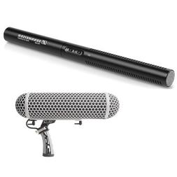 Sennheiser MKE 600 - Shotgun Microphone and Marantz Professi