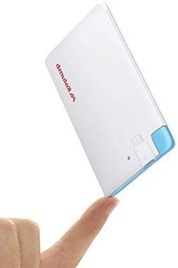 Ultra-Slim Ultra-Portable Ultra-Safe 2500mAh Wallet Pocket P