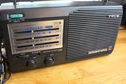 Vintage Sony 4 Band Radio Am Fm Tv Weather Model: Icf-34