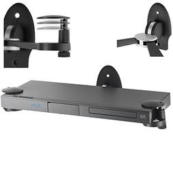 VonHaus DVD Wall Mount, Adjustable Floating Shelf Bracket fo