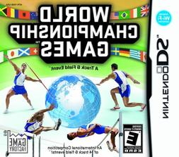 World Championship Games: A Track & Field Event - Nintendo D