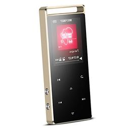AGPTEK A01S 16GB MP3 Player Touch Button with FM /Radio, Los