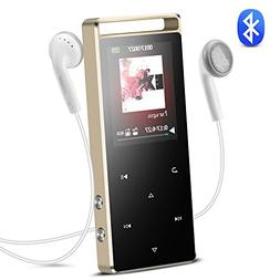 AGPTEK A01T 8GB Bluetooth MP3 Player Touch Button with FM/ V