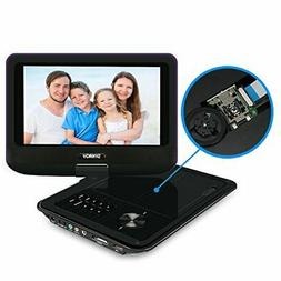 SYNAGY A19 9inch Portable DVD Player CD Player with Swivel S