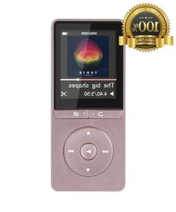 AGPtEK  A20 8GB & 80 Hours Playback MP3 Player Lossless Soun