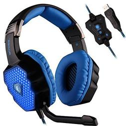 SADES A70 Virtual 7.1 Channel Wired USB Surround Sound Stere